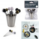 Pic a biruvneaux x12 with pot, 1-fold assorted