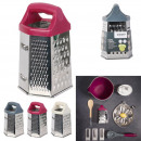 stainless steel grater 6 faces, 3-times assorted
