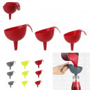 wholesale Kitchen Gadgets: Funnel x3, 3-fold assorted