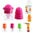 Juicer and container, 3-fold assorted