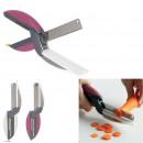 Scissors 2 in 1, 3-fold assorted