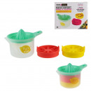 citrus juicer and silicone ice cream mold, 1-time