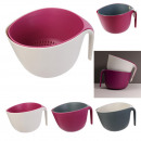wholesale Kitchen Electrical Appliances: bowl strainer round 2in1 cook concept, 3-fold asso