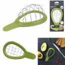 coupe avocat forme cubique cook concept