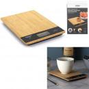 balance de cuisine rectangulaire bambou 5kg