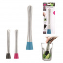 wholesale Kitchen Gadgets: Pestle stainless steel, 3-fold assorted