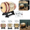 wholesale Food & Beverage: 3l wine barrel distributor, 3-times assorted