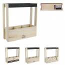 wholesale Wines & Accessories: wooden wine rack compartments x3, 3-fold assort