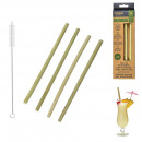wholesale Household & Kitchen:bamboo straw x4