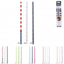 Reusable straw design x125, 5- times assorted