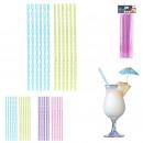 big straws twist x12, 2- times assorted