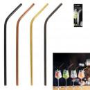 straws inoxx4 with bottle brush