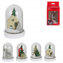 bell led christmas 13x7.5cm, 4- times assorted