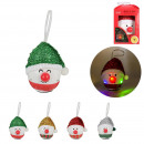 decoration led to hang man christmas 100mm, 4-