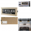 tableau a message lumineux bistrot