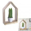 home decorative led plant garden h31cm, 2-fold