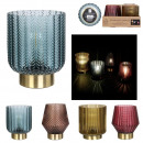 bright decoration vase and battery light bulb, 4-f