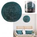 wholesale Decoration: indoor suspension blue petrol 30cm