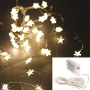 garland star 40 led warm light 430cm