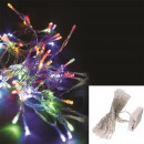 garland 40 led multicolored batteries 430cm