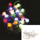 guirlande 20 led lumiere multicolore 230cm