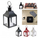 wholesale Wind Lights & Lanterns: led candle lantern 12x6x6cm, 3- times assorted
