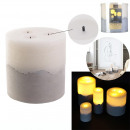 led candle base cement15x15cm