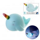 night light whale 21x13x13cm, 1- times assorted