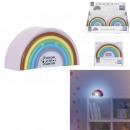 Nachtlicht Regenbogen 7x4x14cm, 1- fach sortiert