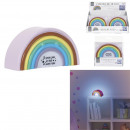 Großhandel Home & Living: Nachtlicht Regenbogen 7x4x14cm, 1- fach ...