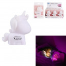 unicorn night light pm pink, 1- times assorted