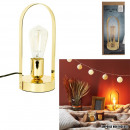 gold handle lamp