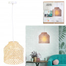 bamboo pendant light 28.5x27.5cm