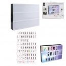 wholesale Decoration: Light box a4 7 colors x85 letters, 1-fold