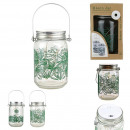 mason jar lumineux 15 led natural life, 2-fois ass