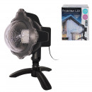 projector ext led effect white snow telecom, 1-fo