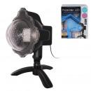 ext led projector effect blue snow telecom, 1-fo