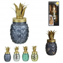 mason jar pineapple led, 4- times assorted