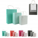Großhandel Geschenkartikel & Papeterie: Geschenktüte x3, 4- fach sortiert