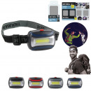 Cob headlamp, 4-fold assorted