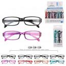 wholesale Reading Glasses: Bezel x2, 4-fold assorted