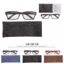 groothandel Leesbrillen en accessoires: maal geassorteerd textieleffect, 9- maal geassorte