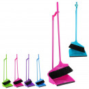 Shovel and brush on stand 4 colors, 4-times asso
