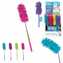 wholesale Cleaning: telescopic duster 27 a 74cm, 4-times assorted
