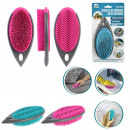 wholesale Cleaning: silicone household brush, 2- times assorted
