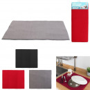 ultra-absorbent sink mat, 3- times assorted
