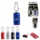 wholesale Flashlights: torch magnet, 4- times assorted