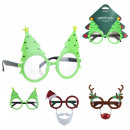 wholesale Glasses: christmas glasses fun, 3- times assorted