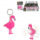 keychain flaming sound and light, 1-time asso