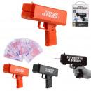 wholesale Joke Articles: cash dispenser gun, 2- times assorted